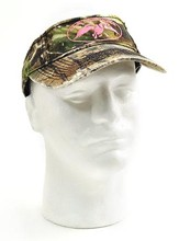 Duck Commander Visor, Camo and Pink Duck Commander Series