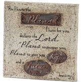 For I Know the Plans I Have For You Tabletop Plaque