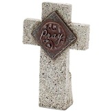 Pray Tabletop Cross