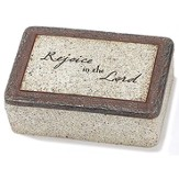 Rejoice In the Lord Keepsake Box