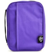 Armor of God Bible Cover, Violet, Large
