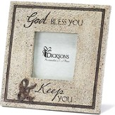 God Bless You and Keep You Photo Frame