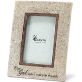 May God Watch Over You Always Photo Frame