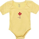Heaven Sent Romper, 3-6 Months, Yellow