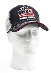 Duck Dynasty, Duck Commander Flag Cap, Navy and White