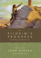 The Pilgrim's Progress, Deluxe Illustrated Edition  - Slightly Imperfect