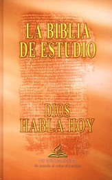 Dios Habla Hoy, Hardcover Study Bible with Deuterocanonicals Books - Slightly Imperfect