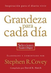 Grandeza Para Cada Dia (Everyday Greatness) - eBook