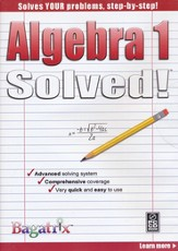 Algebra 1 Solved! CD-Rom
