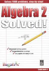 Algebra 2 Solved! CD-Rom