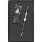 Cross Pen and Keyring Set, Black