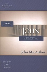 John, John MacArthur Study Guides  - Slightly Imperfect