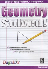 Geometry Solved! CD-Rom