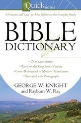 The Quicknotes Bible Dictionary - eBook