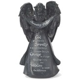 Serenity Prayer Angel Figurine