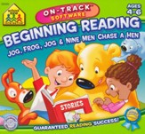 Beginning Reading On-Track Software CD-Rom - Slightly Imperfect