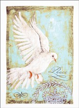Peace Dove Christmas Kitchen Towel