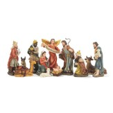 Nativity Set with Detachable Baby Jesus, 12 pieces