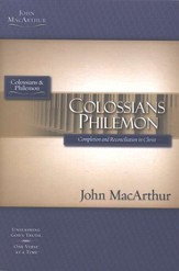 Colossians & Philemon, John MacArthur Study Guides