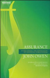 Assurance: Overcoming the Difficulty of Knowing Forgiveness