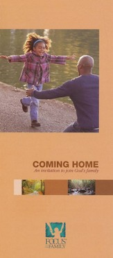 Coming Home: An Invitation To Join God's Family, Booklet