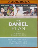 The Daniel Plan: 40 Days to a Healthier Life - unabridged audiobook on CD