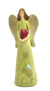Angel with Heart Figure