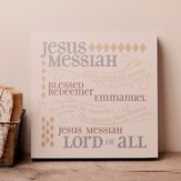 Jesus Messiah, Hanging Plaque