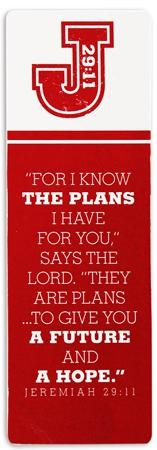 I Know the Plans Bookmark