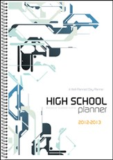 A Well-Planned Day High School 1 Year Planner (July  2012 - June 2013)