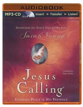 Jesus Calling, Unabridged MP3-CD