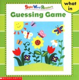 Sight Word Readers: Guessing Game