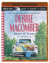 Heart of Texas, Volume 1: Lonesome Cowboy and Texas Two-Step - unabridged audiobook on MP3-CD