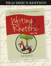 Writing & Rhetoric Book 1: Fable Teacher's Edition