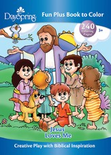 Jesus Loves Me Coloring Book