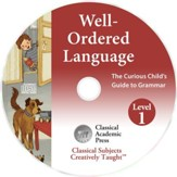 Well-Ordered Language Level 1A & 1B Songs & Chants CD