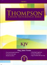 KJV Thompson Chain-Reference Bible, Hardcover