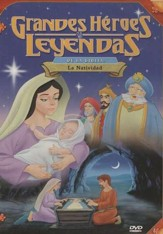 La Natividad, Grandes Héroes y Leyendas de la Biblia  (The Nativity, Great Heroes and Legends of the Bible), DVD