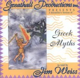 Greek Myths - Audiobook on CD