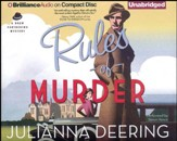 #1: Rules of Murder - unabridged audiobook on CD