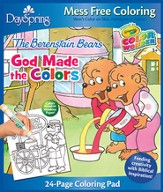 God Made the Colors, Berenstain Bears, Coloring Pad