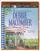 Heart of Texas, Volume 2: Caroline's Child and Dr. Texas - unabridged audiobook on MP3-CD