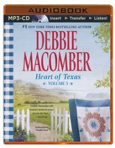 Heart of Texas, Volume 3: Nell's Cowboy and Lone Star Baby - unabridged audiobook on MP3-CD