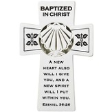 Baptized In Christ Wall Cross