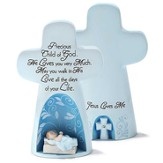 Precious Child of God Tabletop Cross, Blue