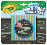 Crayola, Washable Multi-Color Sidewalk Chalk