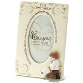 First Communion Photo Frame, Boy