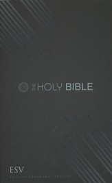 ESV Outreach Bible, Graphite Design