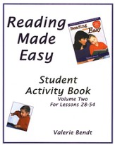 Reading Made Easy Student Activity Book Two