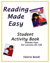 Reading Made Easy Student Activity Book Four